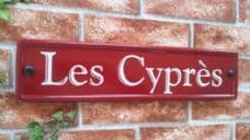 Reflective House Sign – 420mm x 100mm; 16.5 inches x 4 inches